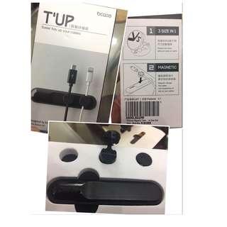 Bcase TUP 一盒 包括:1個 3M磁鐵理線器 +3個線位 數據線/耳機 收納