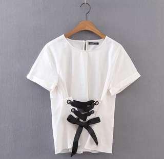 Baju Kekinian Tali Depan