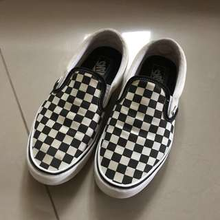 Vans Checkerboard Slip-On Lite