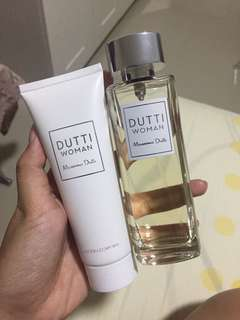 DUTTI Woman Perfume & Lotion