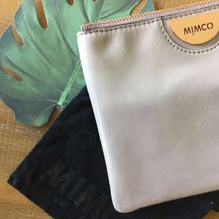 MIMCO Medium Pouch || New collection - blush/taupe