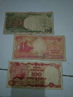 Uang kertas Take all