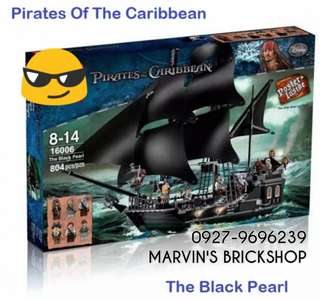 Pirates Of The Caribbean The Black Pearl Building Blocks Toy For Sale!