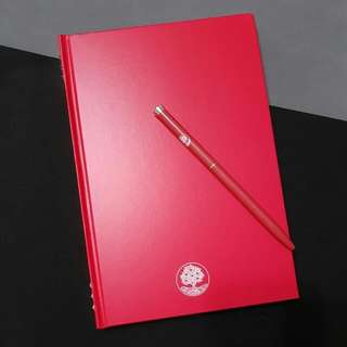 Crabtree & Evelyn Swarovski Notebook & Pen