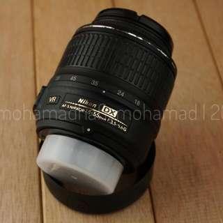 Nikon AF Nikkor 18-55mm 1:3.5-5.6G Kitlens