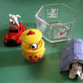 101 dog toys 1 set