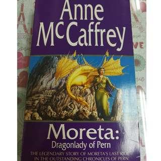 Moreta:diagonally of pern