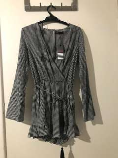 BNWT graham playsuit