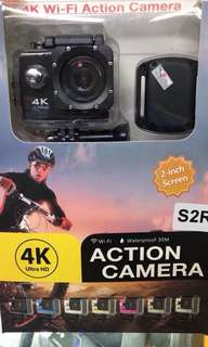 4k action cam with wifi and remote