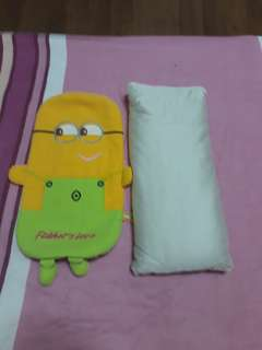 Minion buckwheat pillow
