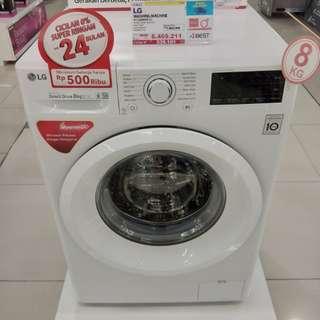 Cicilan mesin cuci LG tanpa kartu kredit proses cepat 3 menit