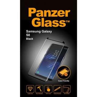 PanzerGlass Samsung S8/S8 Plus/Note 8 CASE FRIENDLY適配外殼防爆玻璃貼