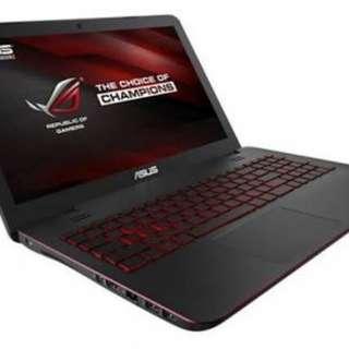 ASUS ROG i7 GL552JM quadcore Gaming Laptop
