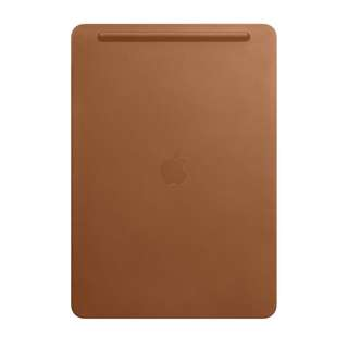  iPad Pro Leather Sleeve (Saddle Brown)