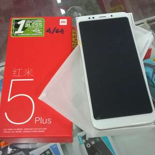 Xiaomi 5 plus ram 4/64  terima kredit syarat mudah