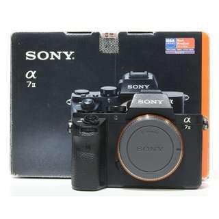 Sony Alpha a7 II Mirrorless Digital Camera (SC: 40K+)