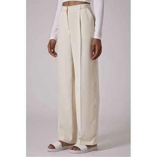 TOPSHOP High Waist Wide Leg Trouser