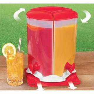 Drinker Kitchen Drink Bucket 3 in 1 Buffet Drink Beverage Dispenser