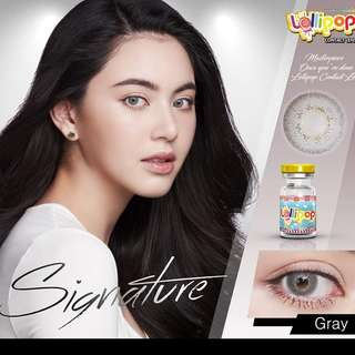 Signature Gray Contact Lens