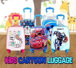 Kids cartoon luggage