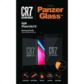 PanzerGlass iPhone 6-8/6-8 Plus CR7 CASE FRIENDLY 適配外殼防爆玻璃貼