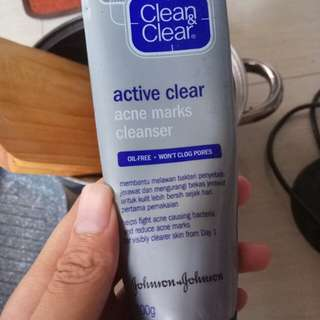 Clean and clear cleanser