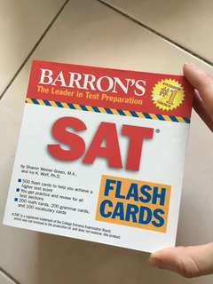 SAT Flash Cards