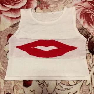 Lips Crop Top👄