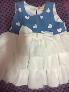 Baby girl's party dress