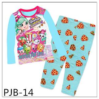 8Y-12Y Shopkins girl Long sleeve Pajamas