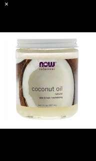 100% Natural Coconut Oil, 207ml