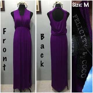Felicity & coco Purple Gown