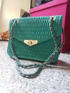 Charles & Keith Shoulder Bag (Sea Green)