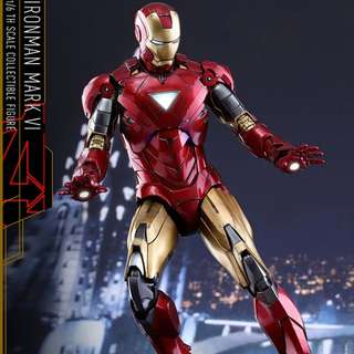 Hot Toys Ironman hottoys iron man mark 6 vi diecast normal