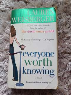 Lauren Weisberger Everyone Worth Knowing