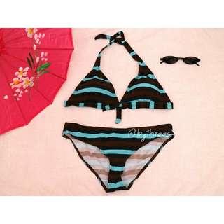 Stripes bikini / two piece / swimsuit
