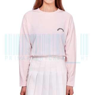 🇰🇷Line friends 粉紅色長袖上衣