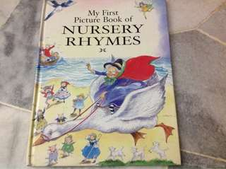 My first picture book of nursery rhymes(hardcover)