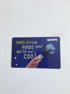TransitLink Card - SANYO Aircon - keeps your world cool