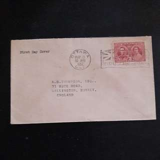 Canada 1937 First Day Cover