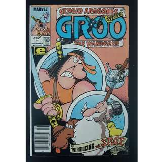 Groo the Wanderer #7 (1985 Marvel)- By Sergio Aragones!