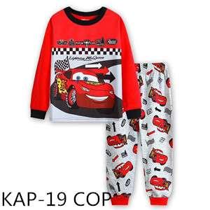 Cars Lightning Mcqueen Pajamas