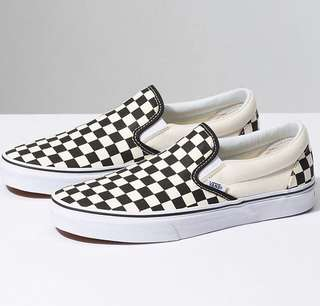 Vans Slip On Checkboard BW