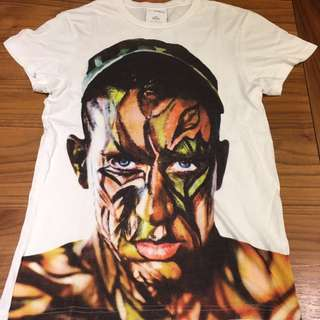 Adidas x Jeremy Scott face camo T-shirt
