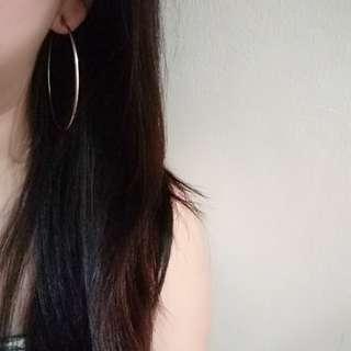 Big hoop earrings hypoallergenic