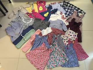 GIRLS OUTFIT BUNDLE SET $130 ONLY!