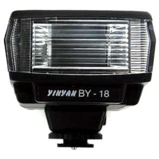 Yinyan Mini Flash Kamera 5600K Untuk DSLR Canon Nikon - BY-18 - Black