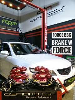 Honda Accord CL7/CU2 : FORCE BBK Big 4/Mid 4 setup