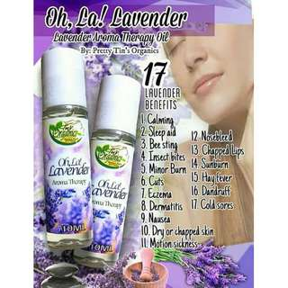 Oh, la! Lavender Oil Therapeutic for Insomnia, Headache, nausea, nosebleed, etc.