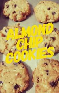 ALMOND CHIP COOKIES